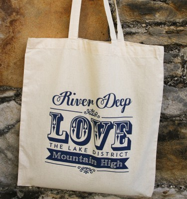 Tote bag (Cotton) - Love the Lakes