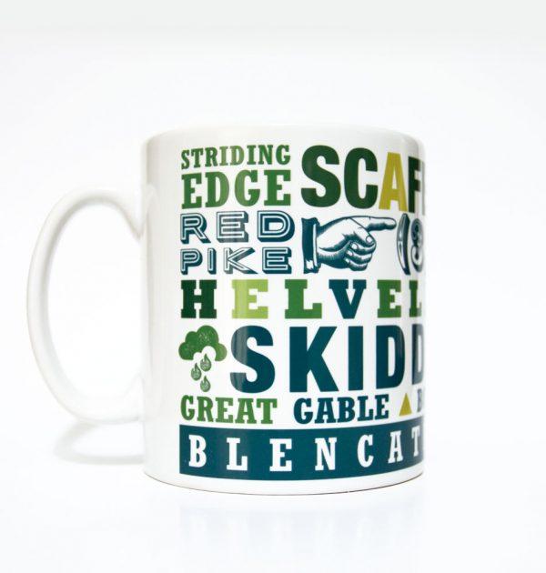 Lake District mug - Scafell Pike