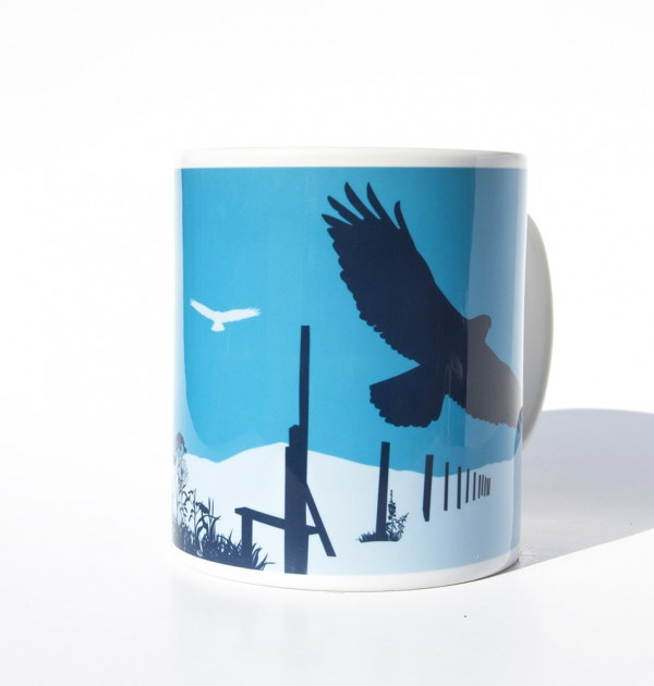 Lake District Common buzzard mug