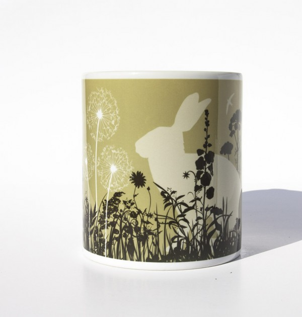 Lake District Brown hare mug
