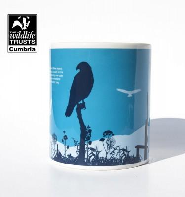 Lake District Common buzzard mug
