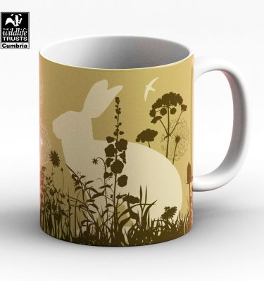 Brown hare mug