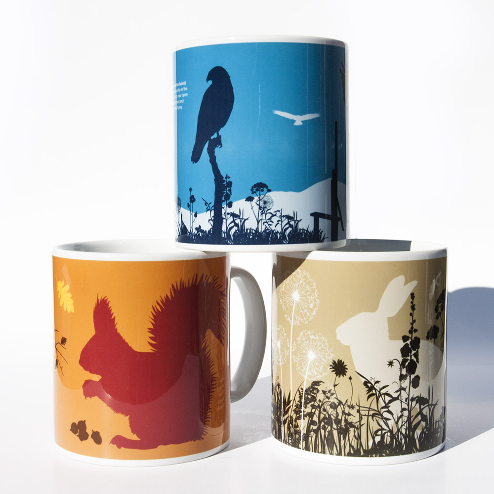Lake District Wildlife Mugs