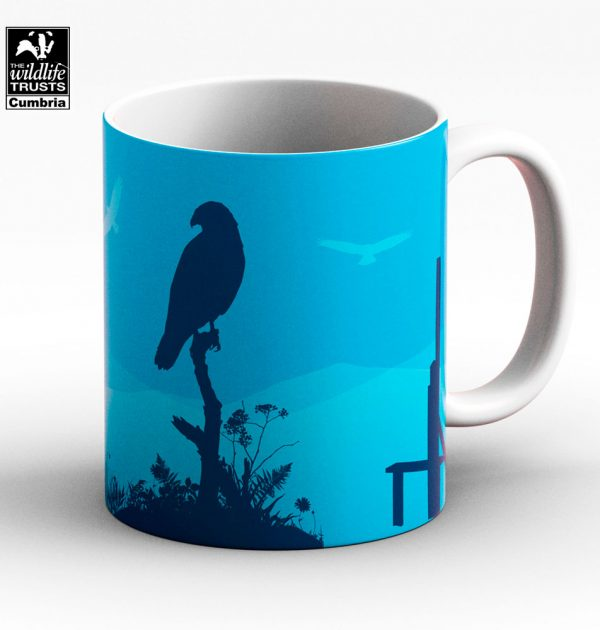 Common buzzard mug