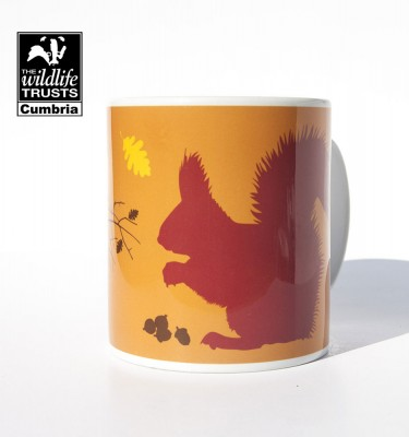 Lake District Red squirrel mug
