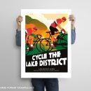 Lake District poster