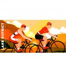 Lake District cycling mug