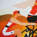 Lake District cycling poster
