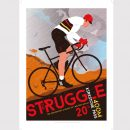 The Struggle, Kirkstone Pass, Cycling poster