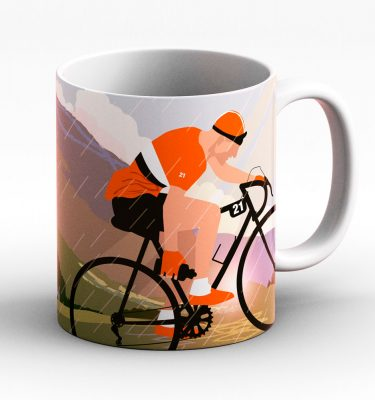 Lake Distict cycling mug