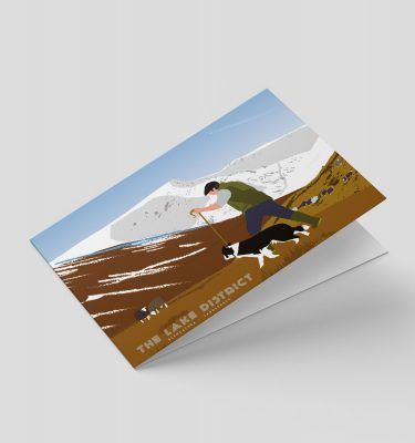Lake District greetings card