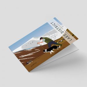 Lake District – Greetings card – Shepherd