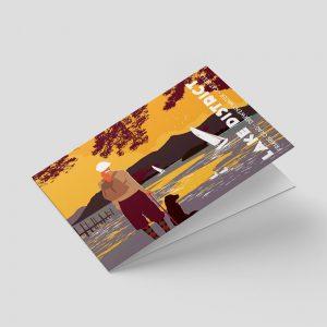 Lake District – Greetings card – Catbells