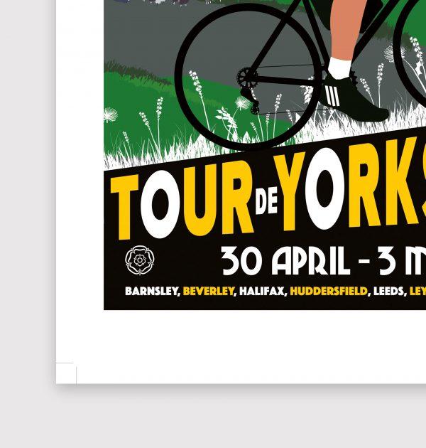 Tour De Yorkshire poster