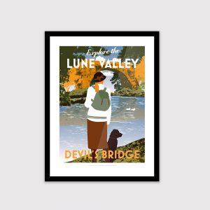 Lake District poster, Devil's Bridge