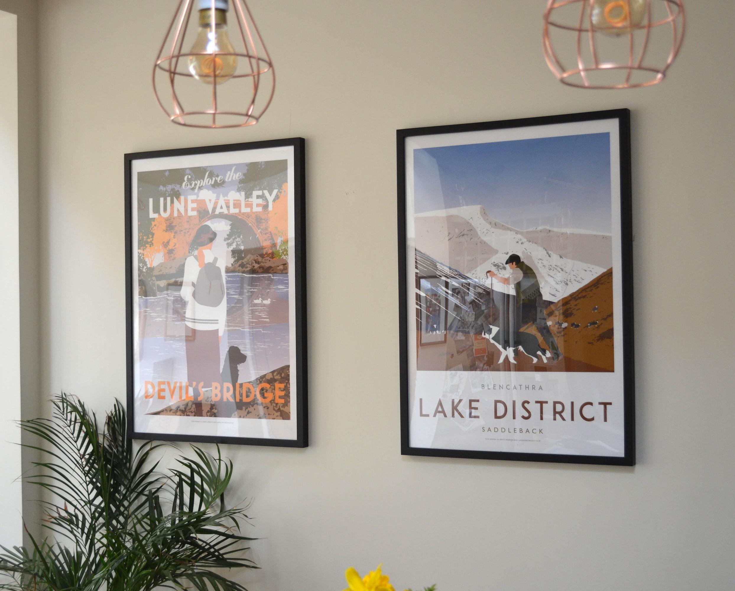 Lake District posters A1