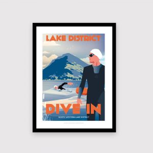 Lake District, Wild Swimming, male, swimmer