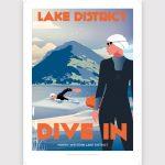 Wild swimming poster